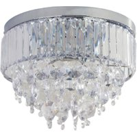 'Aviv 3 Led Light Flush Fitting - Clear