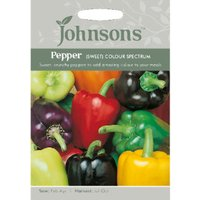 Pack of Colour Spectrum Sweet Pepper Seeds