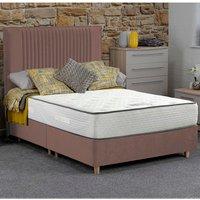 Jonas and James Salcombe Divan Bed Set With Mattress - Blush / 4 / Single