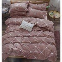 4PC Egyptian Cotton Complete Duvet Set Double  - CS10