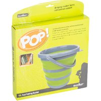 Summit Pop Fast Fold Bucket - Green