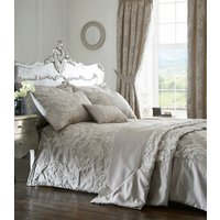 Howard Duvet Cover and Pillowcase Set - Silver / Double