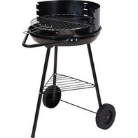 Charcoal BBQ Grill on Legs