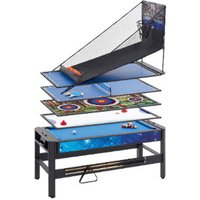 6ft Pentagon 5-in-1 Multigames Table