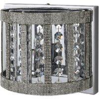 Xavier Wall Light - Silver