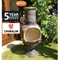 Asteria Extra Large Chimenea - Matt Brown