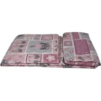 Beautiful Printed Quilted Bedspread Throw - D318