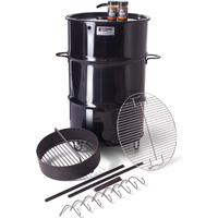 Pit Barrel Cooker Barbecue and Smoker Grill - Black