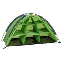 Summit Shelf Organiser Storage Tent - Green