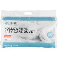 My Home 13.5 Tog Duvet - White / Single