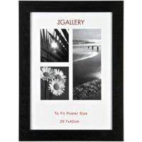 'Large Poster Frame - Black / A3