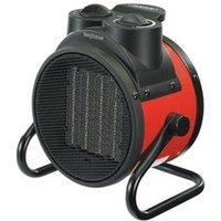'Draper Ptc Electric Space Heater - Red