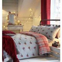 Robin Duvet Cover and Pillowcase Set - Super King