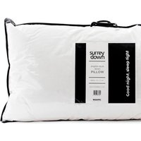 English Duck Down Pillow - White / 90cm