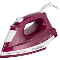 Russell Hobbs Light & Easy Brights Iron - Mulberry