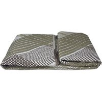 Beautiful Printed Quilted Bedspread Throw - D330