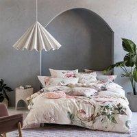 Pastel Floral Duvet Cover Set - King