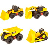 Image of CAT Mini Movers and Trucks - Yellow / 7.5 x 7 x 14cm