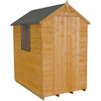Shiplap Dip Treated Apex Shed 4 x 6