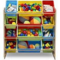 Kids Toy Storage Organizer - Multicoloured