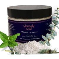 Peppermint, Eucalyptus and Pine Dead Sea Salt Natural Aromatherapy Body Scrub - Yellow