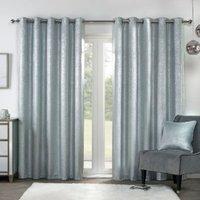 Samira Eyelet Curtains - 183cm / 168cm