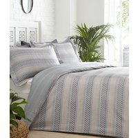 Jori Duvet Cover and Pillowcase Set - Slate / Double