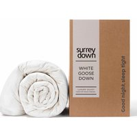 Goose Down Duvet - White / 9 / Super King size