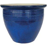 Luxor Collection Blue Pot  - Blue / 30cm