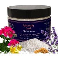 Rose Geranium Aromatherapy Dead Sea Salt Body Scrub