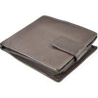 'Brown Men's Leather Wallet