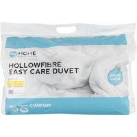 My Home 10.5 Tog Duvet - White / Single