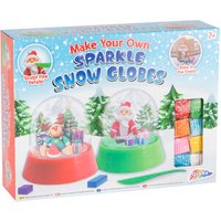Make Your Own Sparkle Snow Globes