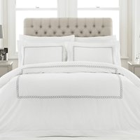 Soho Embroidered Duvet Cover Set - Double