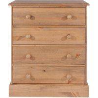 Cotswold Four Drawer Chest - Pine