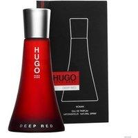 'Hugo Boss Deep Red Eau De Parfum Women's Perfume Spray 50ml - Red