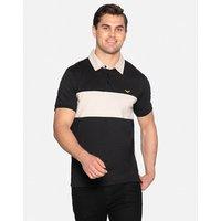 Black Johnson Cotton Rugby Shirt - Black / XL