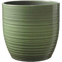 Bergamo Planter - Leaf Green / 18cm