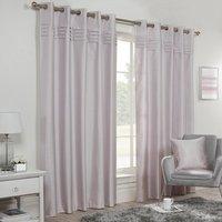 Freya Blockout Eyelet Curtains - Lilac / 168cm