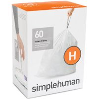 Pack of Simplehuman Custom Fit Bin Liners - 60 / H