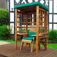 Charles Taylor Wentworth 1 Seater Arbour - Green
