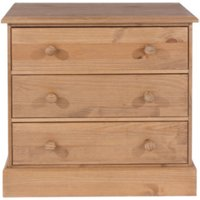 Cotswold Three Drawer Chest - Pine