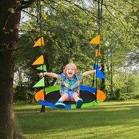 Kids Tree Swing  - Black