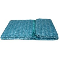 Beautiful Printed Quilted Bedspread Throw - D310