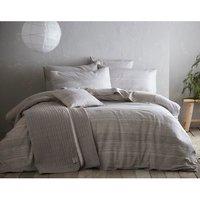 Portfolio Home Admiral Duvet Cover and Pillowcase Set - Grey / Double