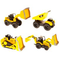Image of CAT Mini Movers and Trucks - Yellow / 16.5 x 13.5 x 32cm