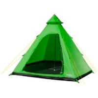 Summit Four Person Tipi Tent - Lime