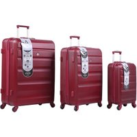 Adelaide Hardshell Suitcase Collection - Wine / Large