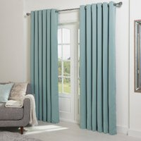 Langdale Eyelet Curtains - Duck Egg / 137cm / 168cm
