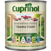 Cuprinol Garden Shades Paint - Country Cream / 1l